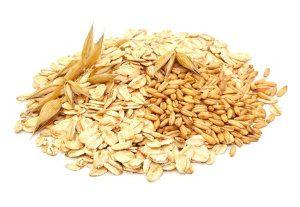 Kernige Getreide Flocken