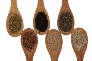 Samen und Kleie