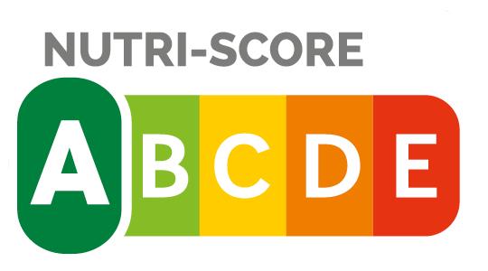 """Nutri-Score A - Die Ermittlung des Nutri-Score erfolgt auf Basis der Nährwertangaben für 100 Gramm, beziehungsweise 100 ml bei Getränken und Suppen. Zur Berechnung wird die Menge bestimmter ungünstiger und günstiger Inhaltsstoffe eines Lebensmittels ermittelt und miteinander verrechnet. Die Palette reicht von """"A"""" (grün) bis """"E"""" (rot). Je niedriger der Nutri-Score, desto höher ist die Nährwertqualität eines Lebensmittels."""