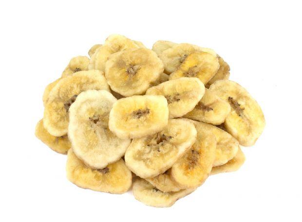 Bananenchips gesüßt