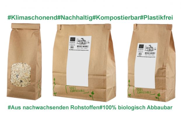Bio Mandel blanchiert