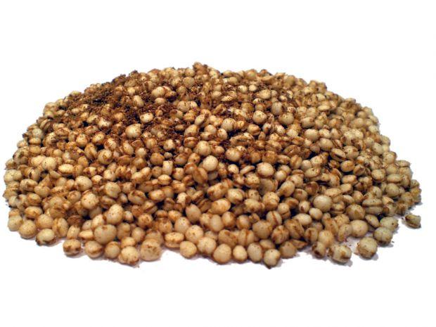 Bio Quinoa gepoppt gepufft
