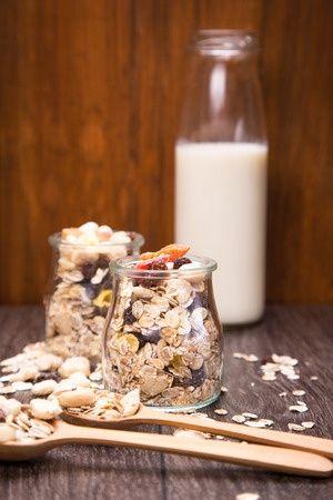 Zum Ausprobieren Frühstücks Bio Müslis 6 fach Mischung
