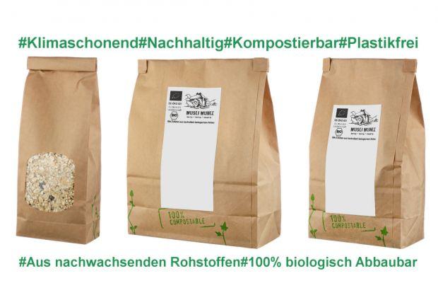 Bio Müsli ohne Rosinen zum Ausprobieren 7 verschiedene Mischungen 1050g