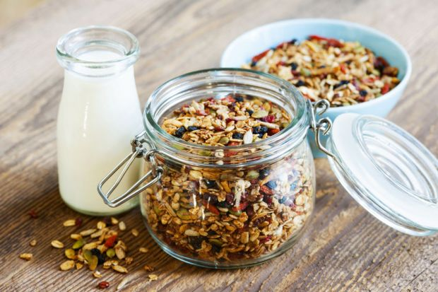 600g Superfood Quinoa und Chia Energie Müsli