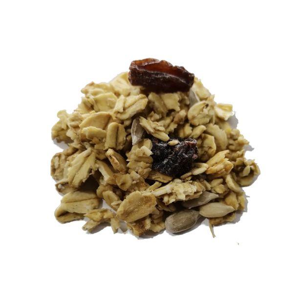 Hafer-Crunchy Honig Basis Bio-Mix 600g