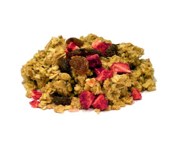 Hafer Crunchy-Honig Erdbeer