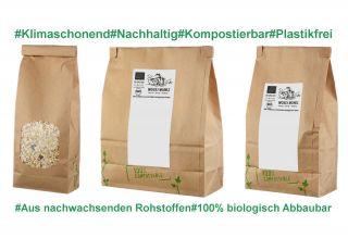 Bio Müsli Paket 7-fach sotiert zum Probieren 1050g