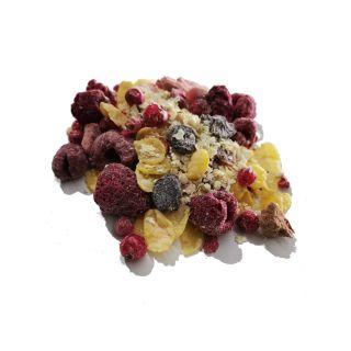 600g rote Früchte Superfood Hirseflocken Müsli