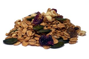 600g Crunchy süßes Feinschmecker Schoko Bio Müsli