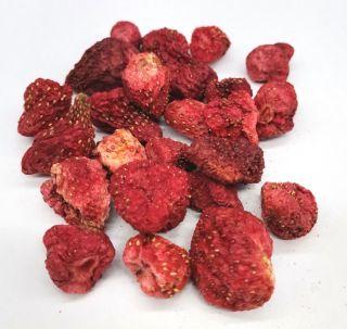 Bio Erdbeeren gefriergetrocknet