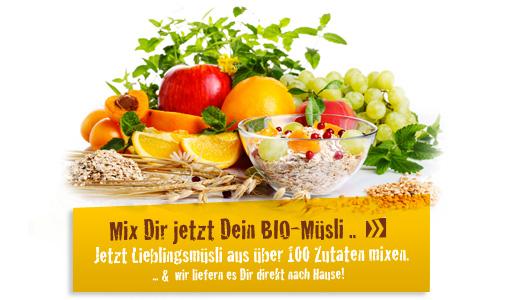 Bio-Müsli selber mixen
